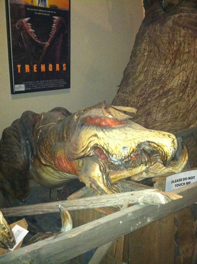 Tremors creature, circa 1990.