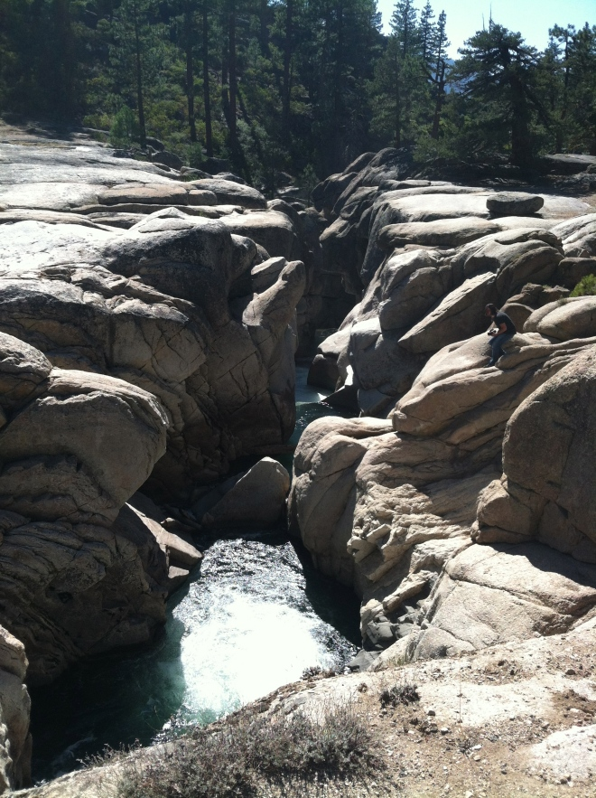 Middle fork of the Stanislaus River.