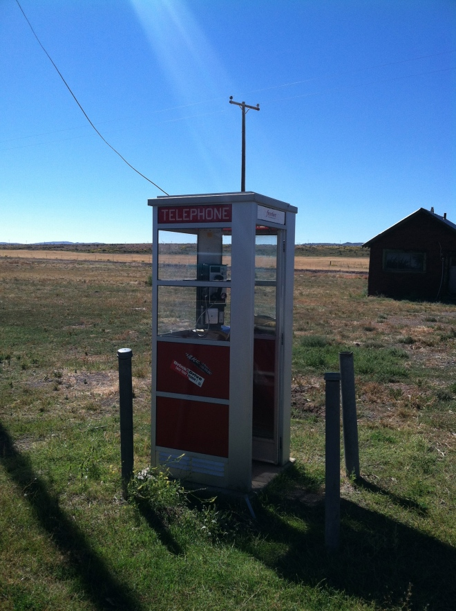 Ok kids, this is something called a phone booth.