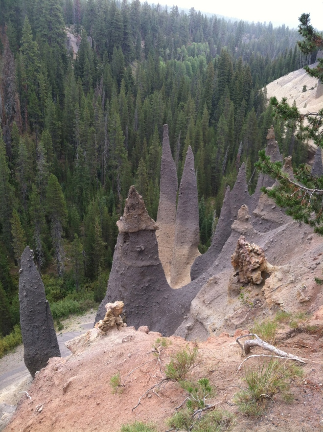 More pinnacles.