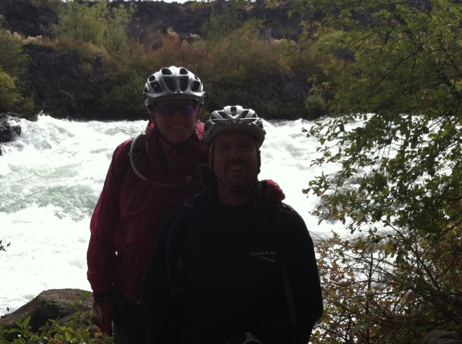 The Deschutes River Trail.
