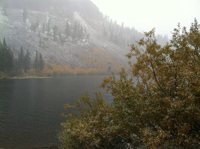 Lake George, October 9th
