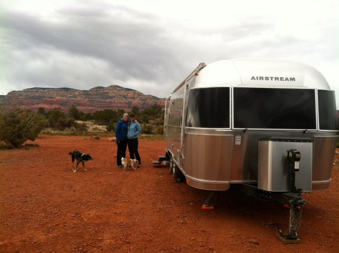 Amelia, Timoni, Sara, and Turner at our boon dock spot just outside of Sedona. We stayed here 7 nights. Thanks Matt!