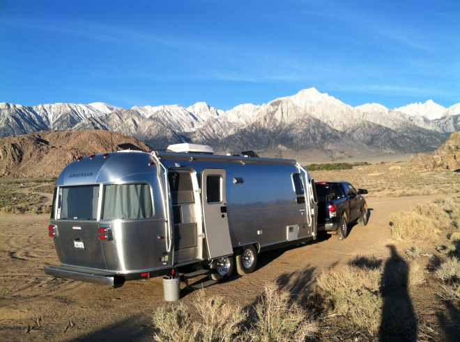 Morning in the Alabama Hills.