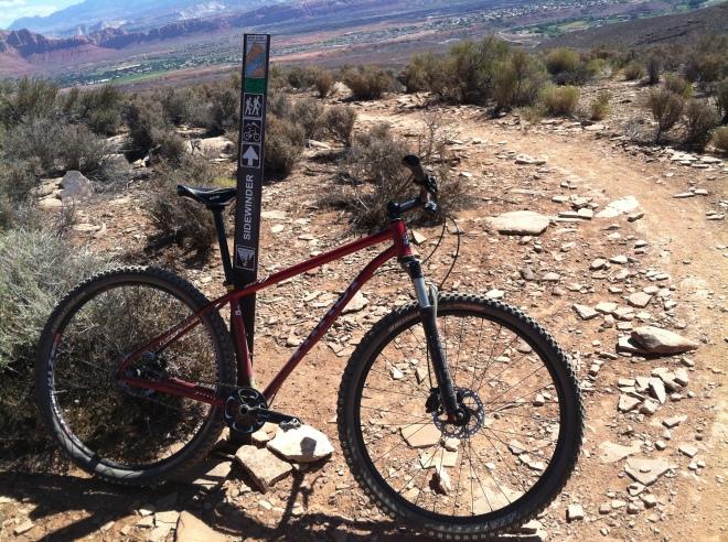 Loving the steel bike!