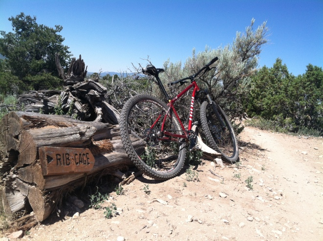 Rib Cage at Phil's. Better than an amusement park ride. If you are a mountain biker you really need to go here.