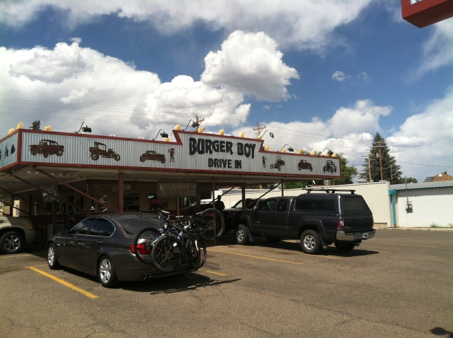 When in Cortez, eat at the Burger Boy. The tater tots are excellent!