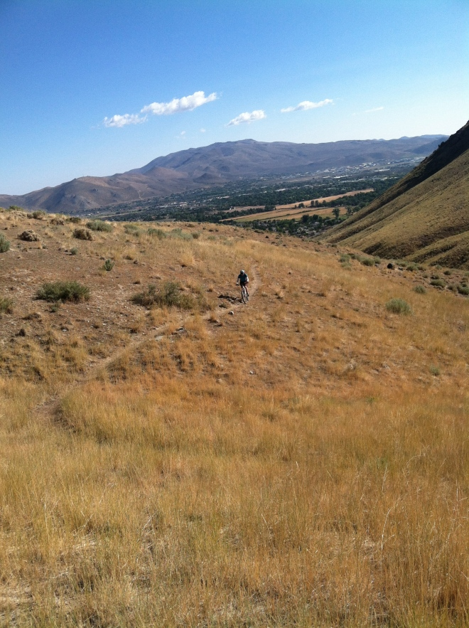 Longview Canyon ride, the other ride in Carson City.  Ash was much better.