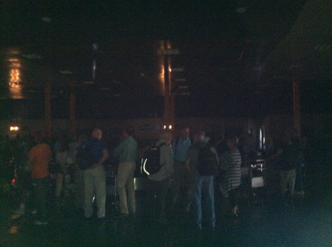 A minute later when all the power went out. Welcome to Cuba!
