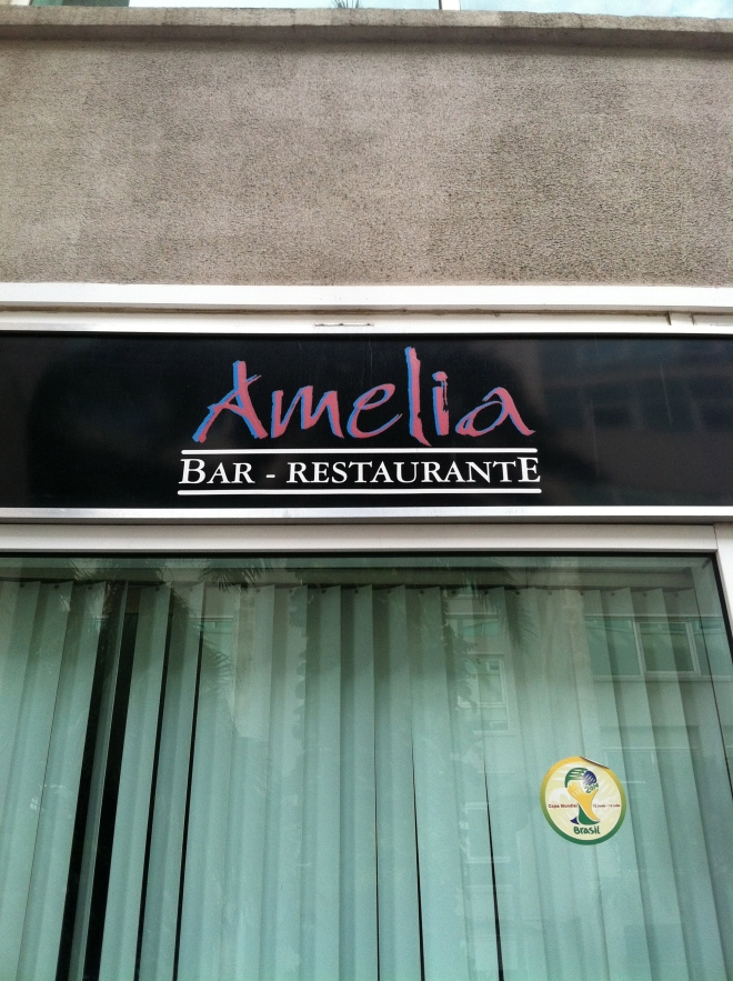 Amelia is a very popular name. I was seeing it everywhere.