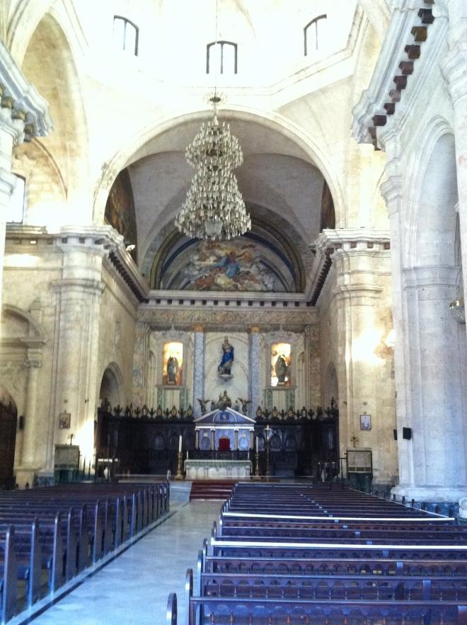 Cathedral de la Havana.