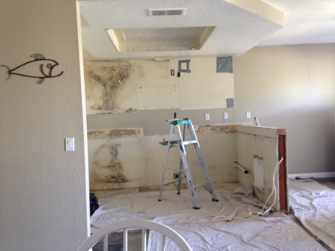 What a perfect time to get out of town! Our kitchen is being remodeled.