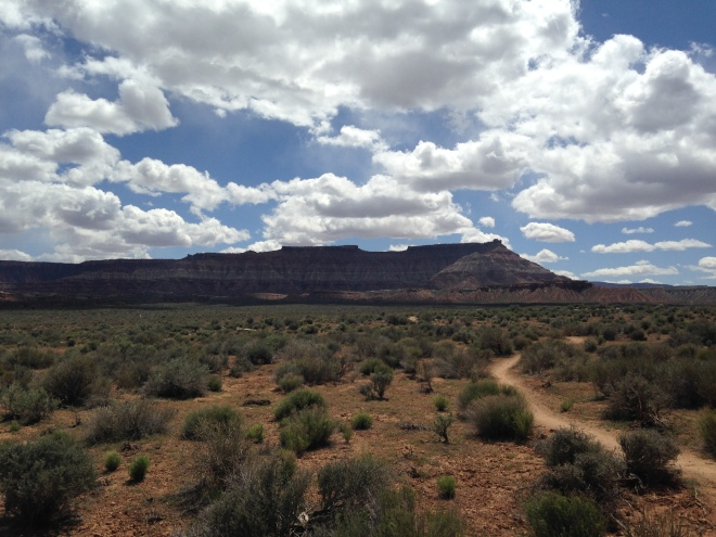 The one, the only, and grand daddy of them all, Gooseberry Mesa.