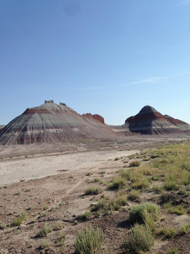 The Tepees. Petrified Forest National Park.