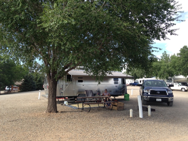 One of the sweetest spots at KOA Cortez. Site 28