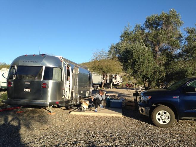 Dumpy campground.